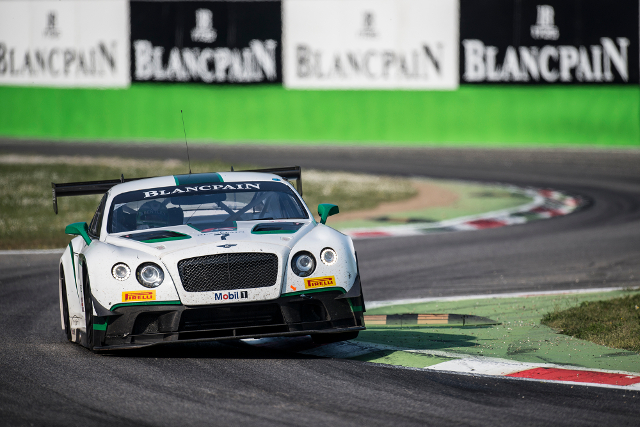 Bentley's BES year started with a apir of top tens at Monza (Credit: Brecht Decancq Photography/Brecht Decancq)