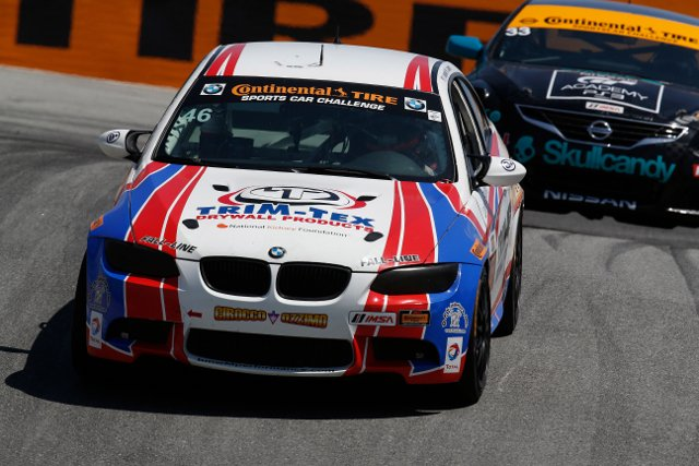 Trent Hindman lost the lead early but fought back to the point (Courtesy of IMSA)