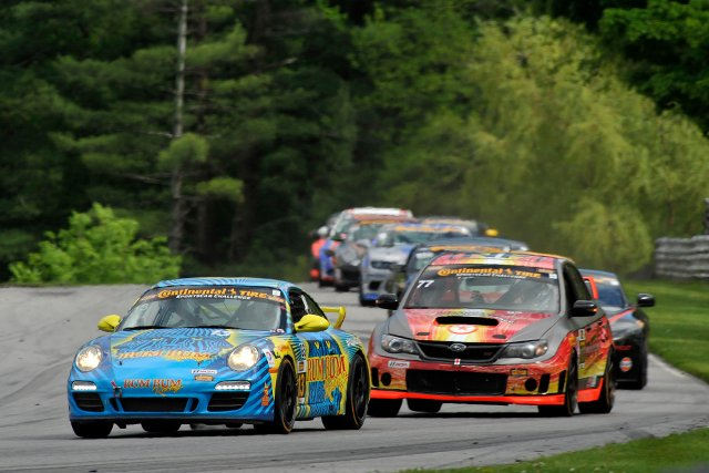 Rum Bum Racing held off challengers for a first win of 2014 (Courtesy of IMSA)