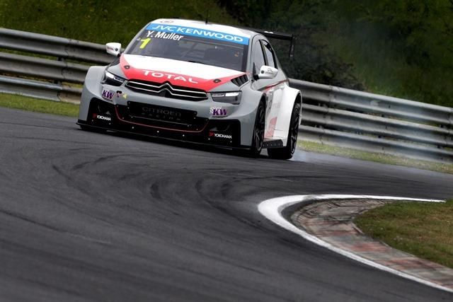Yvan Muller - Photo Credit: Citroen Racing