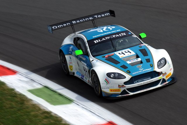 Electrical failure sidelined the team's Aston at Monza (Credit: Peter May/P M Images)