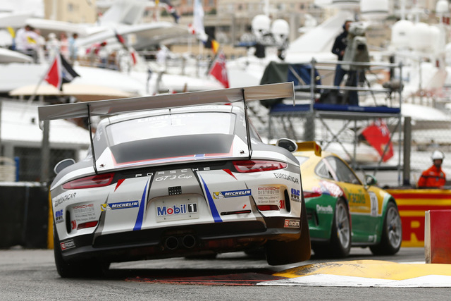 Roar Lindland was one the wrong end of Sebastien Loeb Racing's Monaco weekend (Credit: Porsche AG)