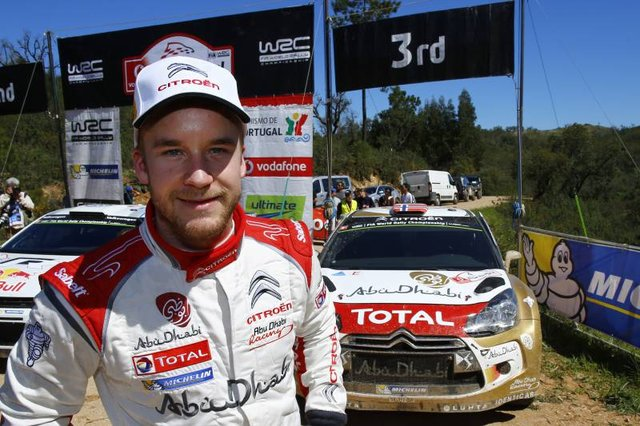 Ostberg will be hoping to build on his third place in Portugal (Credit: Citroen)