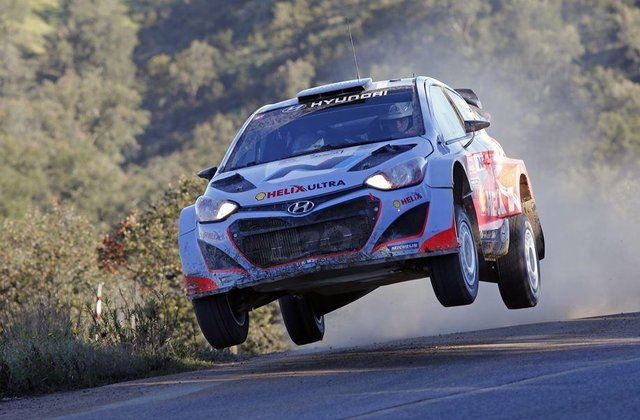 Hanninen will be pushing hard once again in Argentina (Credit: Hyundai Motorsport)