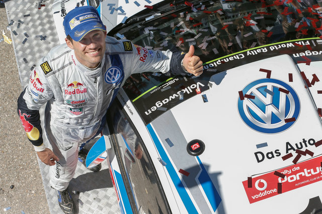 Can Ogier make it three-in-a-row in Argentina? (Credit: VW Motorsport)