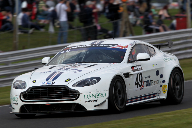 TF Sport's GT4 team took a debut victory at Oulton (Credit: Jakob Ebrey Photography)