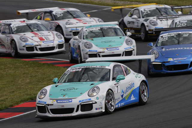 Zoechling's victory opened the Oschersleben weekend (Credit: Porsche AG)
