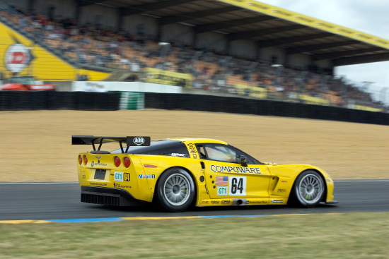 The 2005 race ended with a debut win for the C6.R (Credit: Richard Prince)