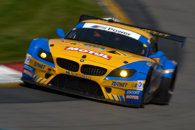Dane Cameron took the GTD lead early (Courtesy of IMSA)