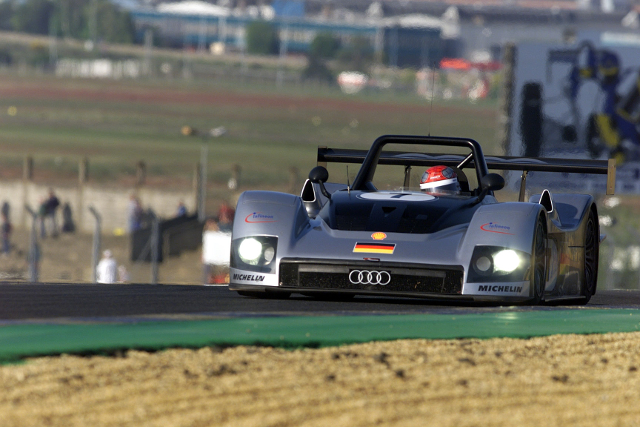 Audi's twin class attack of '99 heralded the entry of the brand (Credit: Audi Motorsport)