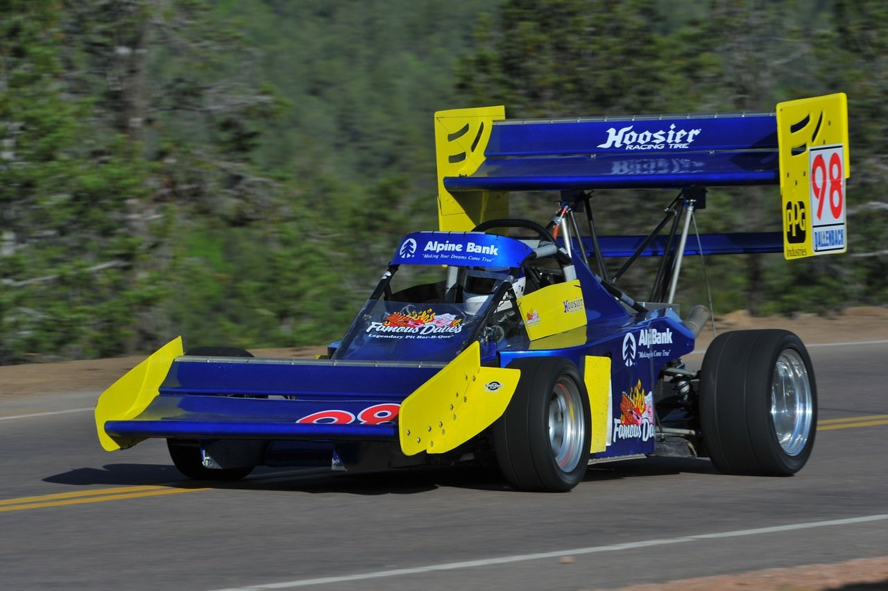 paul dallenbach to attempt third world record in two years at pikes peak the checkered flag. Black Bedroom Furniture Sets. Home Design Ideas
