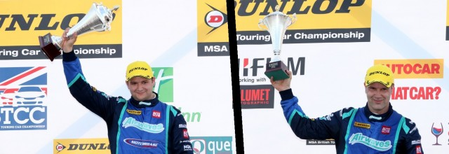 Motorbase returned to  the podium at Thruxton once again (Photos: btcc.net)