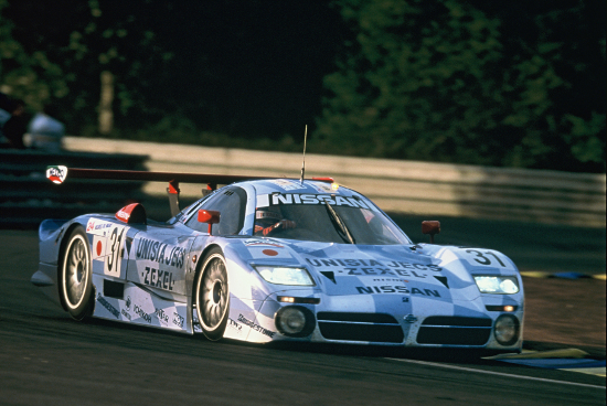 The R390 GT1 gave Nissan their best overall Le Mans result in 1998 (Credit: Nissan Motorsports)