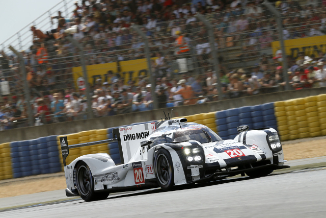 2014 24 Hours of Le Mans (Credit: Porsche AG)