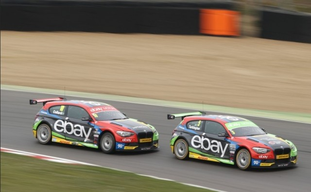 Collard (10) and Turkington (5) have flew for BMW this year (Photo: btcc.net)