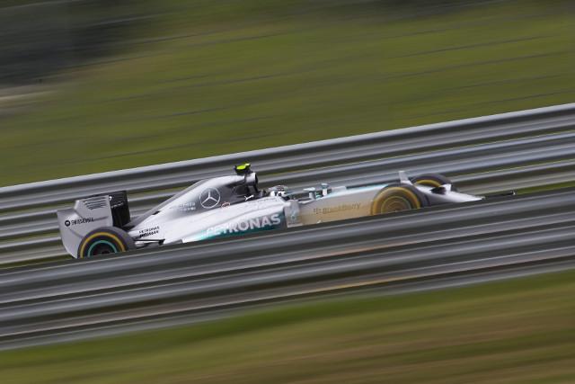 Nico Rosberg - Credit: Mercedes AMG Petronas