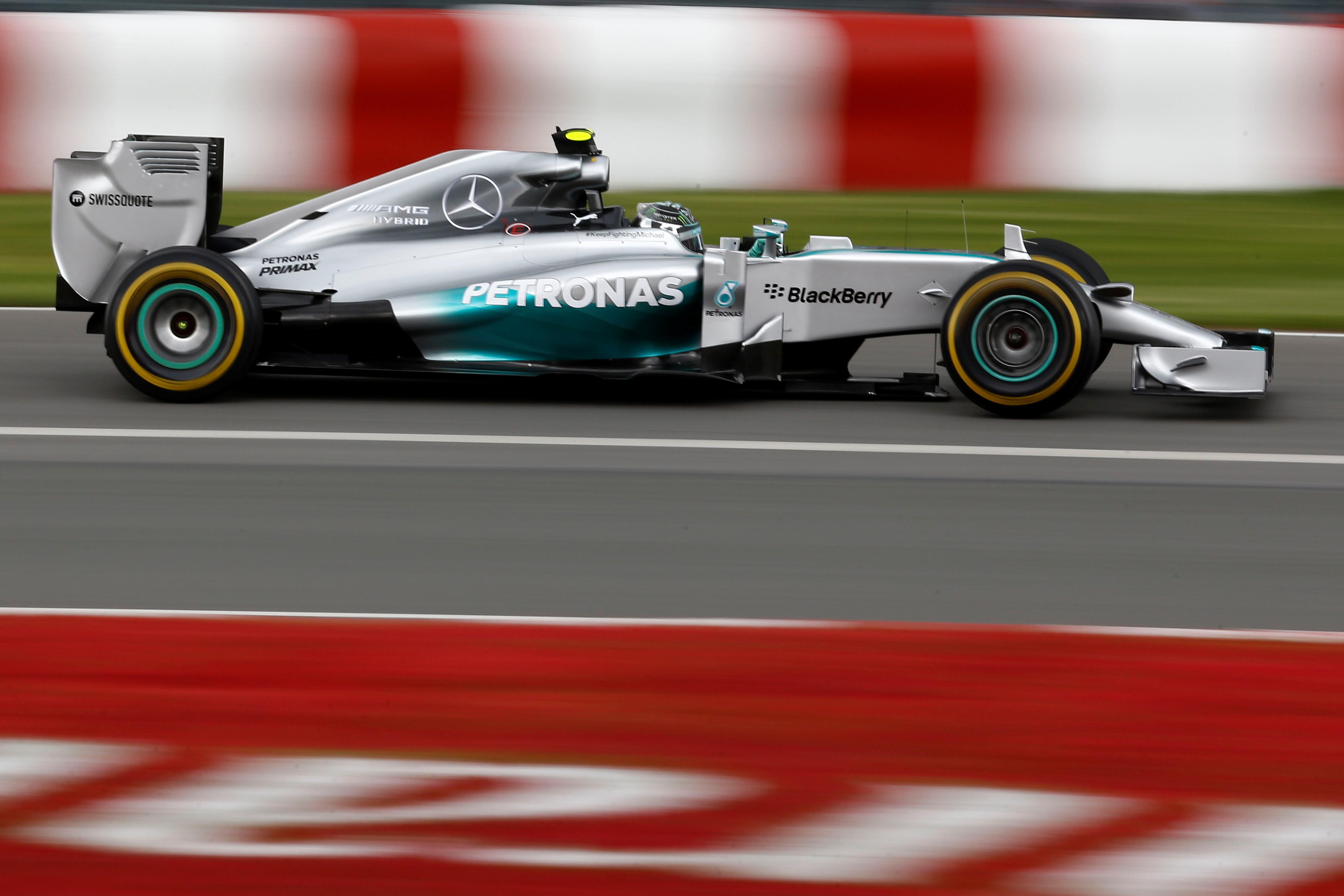 Rosberg Canada pole