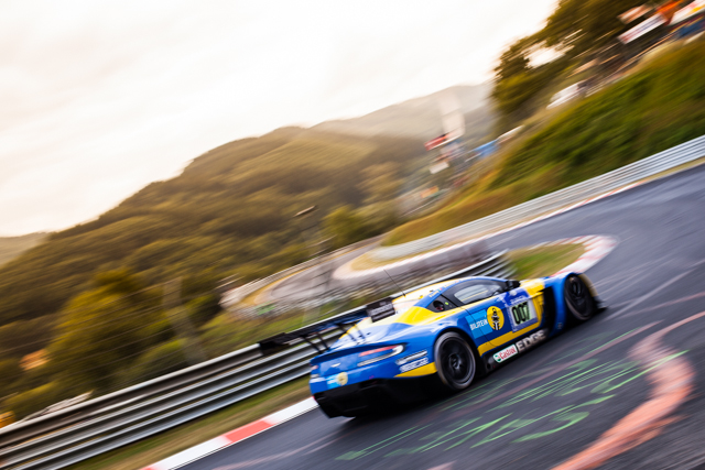 Stefan Mucke moved the Aston into the shootout in the final minutes (Image Credit: Tom Loomes)