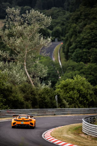 Dorr Motorsport's McLaren remained fastest overall throughout the session (Image Credit: Tom Loomes)