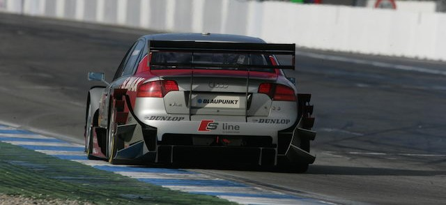Mr Le Mans was also a regular in the Audi A4 DTM Credit: Audi