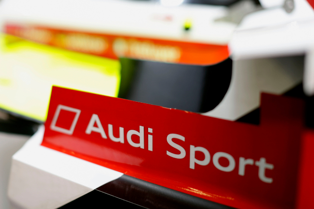 The was a single bump during Audi's time in scrutineering (Credit: Audi Motorsport)