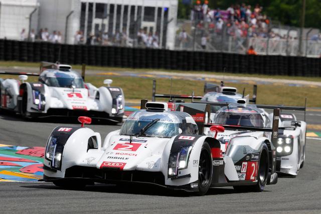2014 24 Hours of Le Mans (Image Credit: Audi Motorsport)