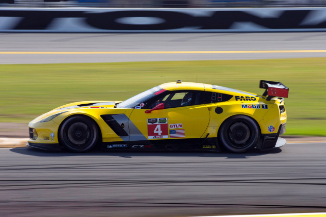 Corvette Racing will give the already race winning C7.R its Le Mans sebut (Credit: Richard Prince/Corvette Racing Photo)