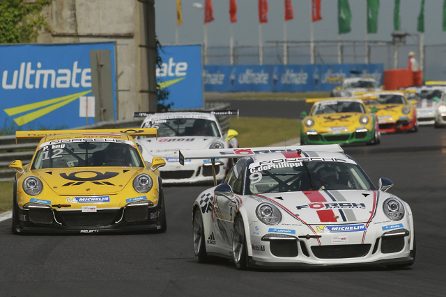 De Phillippi left Budapest with the points lead (Credit: Porsche AG)