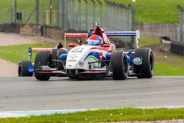 Fittipaldi opened the Donington weekend with his second win of the year (Credit: Octane Photographic Ltd)