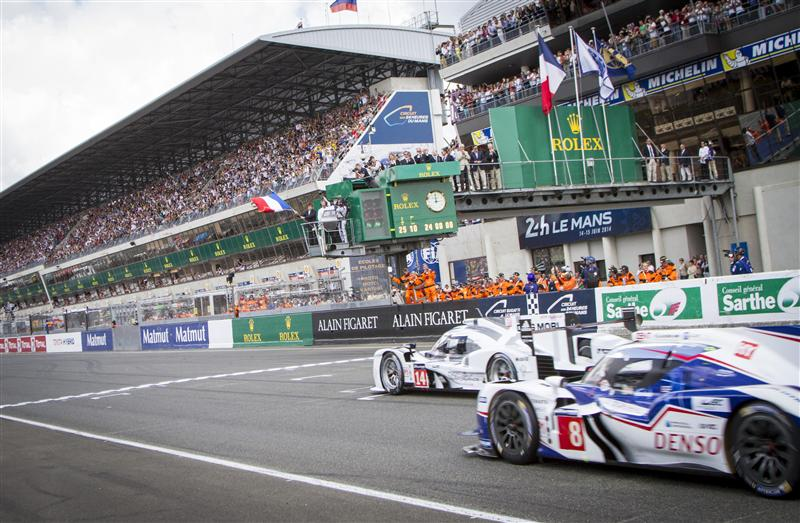 2014 24 Hours of Le Mans (Credit: Rolex/Stephan Cooper)
