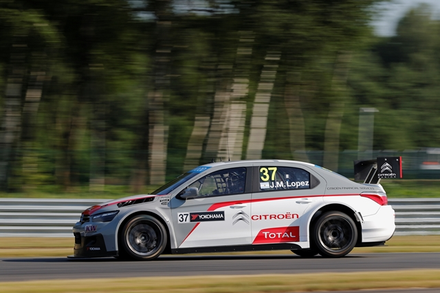 Jose Maria Lopez - Photo Credit: FIA WTCC