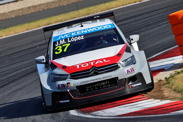 Jose Maria Lopez - Photo Credit: Citroen Racing Media