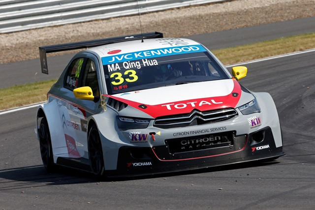 Ma Qing Hua - Photo Credit: FIA WTCC