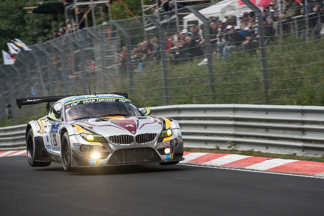 2014 Nurburging 24 Hours (Credit: Marc VDS Racing)