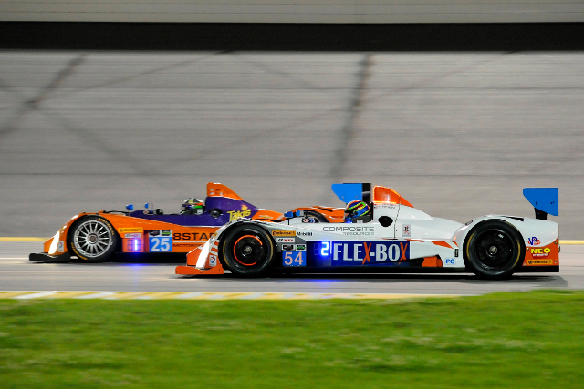 Colin Braun took the lead a lap into the second half of the race (Courtesy of IMSA)
