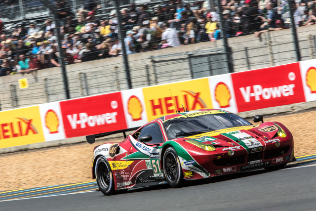 AF Corse's #51 team remained fast and reliable as other faltered (Credit: Gabi Tomescu/Adrenal Media)