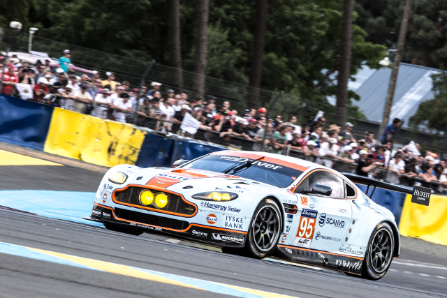 The Young Driver AMR took a deserved and poetic LMGTE Am victory (Credit: Gabi Tomescu/Adrenal Media)