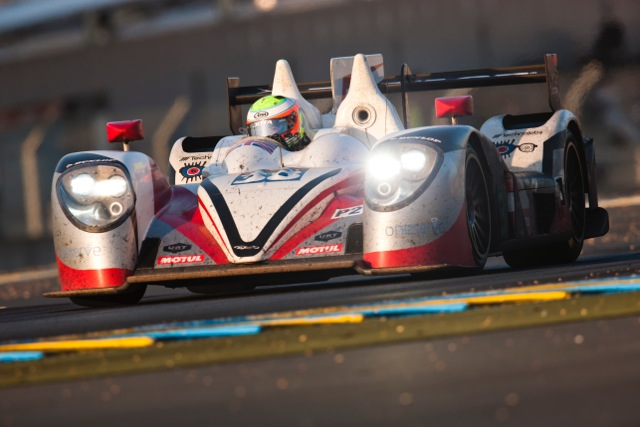 Jota Sport led early, then late in LMP2 (Credit: Jota Sport)