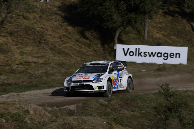 Mikkelsen will sit alongside new co-driver Ola Fløene (Credit: VW Motorsport)