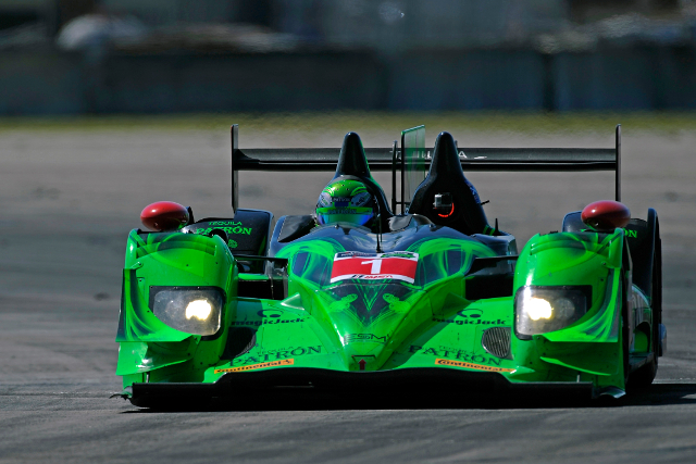 LMP2 machinery took the best times from the session (Courtesy of IMSA)