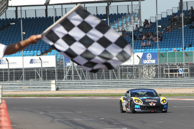 Strandberg completes his Silverstone weekend with victory (Credit: Jakob Ebrey Photography)
