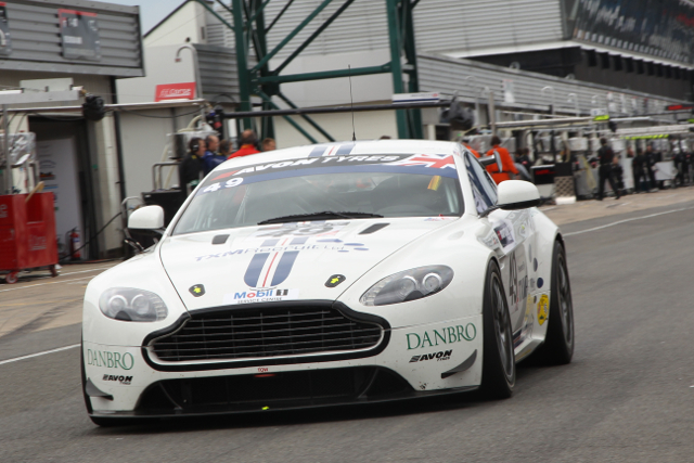 TF Sport's GT4 team left Silverstone with the championship lead (Credit: Jakob Ebrey)