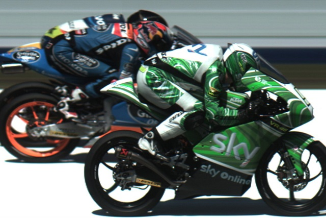 The Moto3 race couldn't have been much closer - Photoom Credit: MotoGP.c