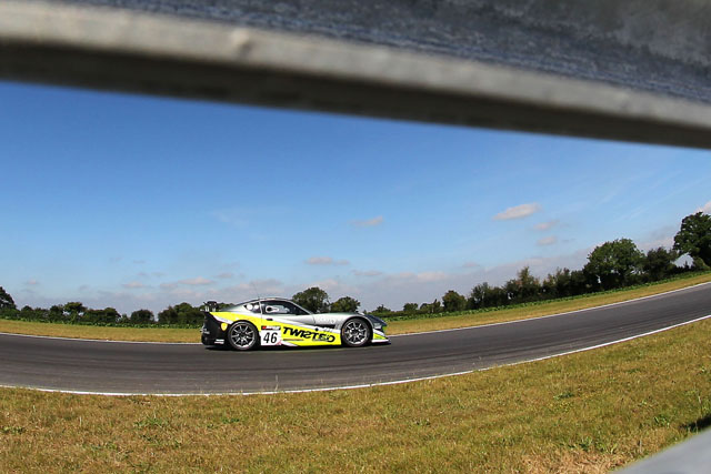 The Twisted Team Parker Ginetta G55 took  the win in GT4. (Credit: Avon Tyres British GT Championship)