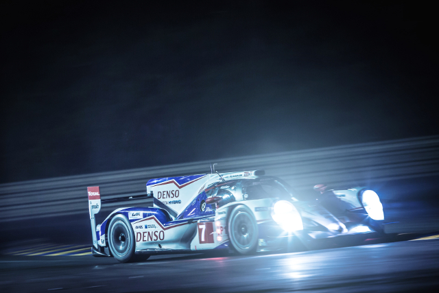 Kazuki Nakajima's early improvement made sure of 24 Hours pole (Credit: Gabi Tomescu/AdrenalMedia.com)