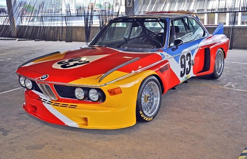 2009 champion Turkington will race the eye-catching 1975 BMW 3.0 CSL (Photo: Colin Turkington via Twitter)