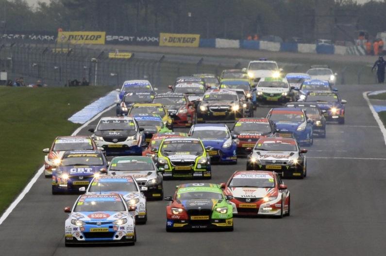 BTCC grid 2014 Donington