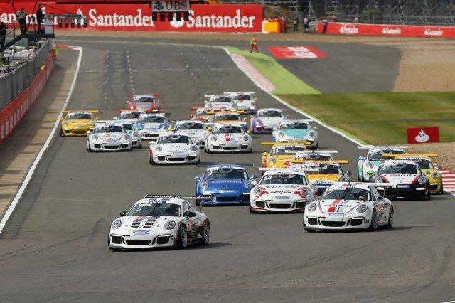 Porsche Mobil 1 Supercup Silverstone 2014