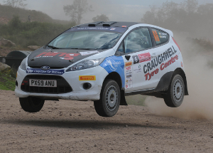 Raftery Flew To The RallyTwo And Fiesta SportTrophy Honours - Credit: Jakob Ebrey Photography