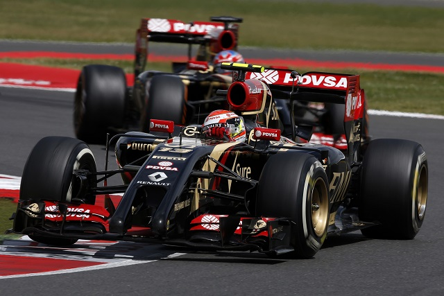 (Photo Credit: Lotus F1 Team)